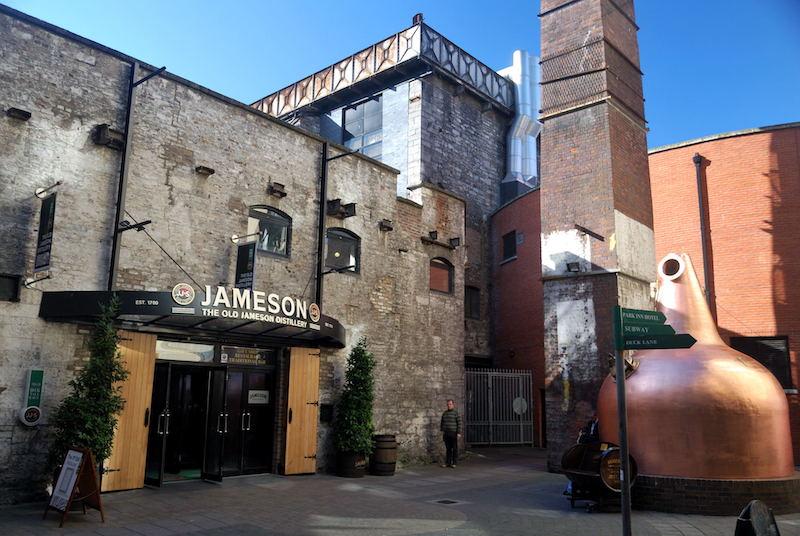 Pontos turísticos em Dublin: Old Jameson Distillery