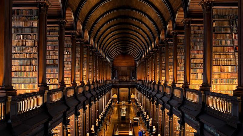 Roteiro de cinco dias em Dublin: Old Library