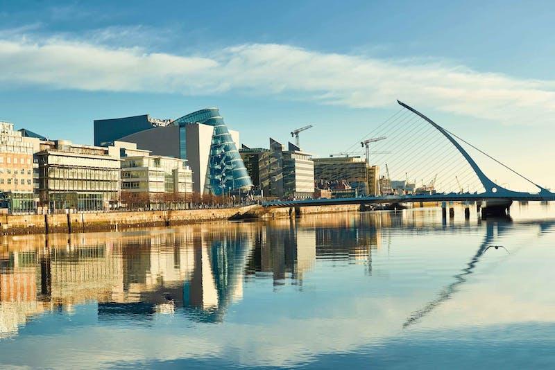 Trajeto até Dublin