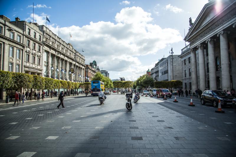 Onde ficar em Dublin: centro - rua O'Connell