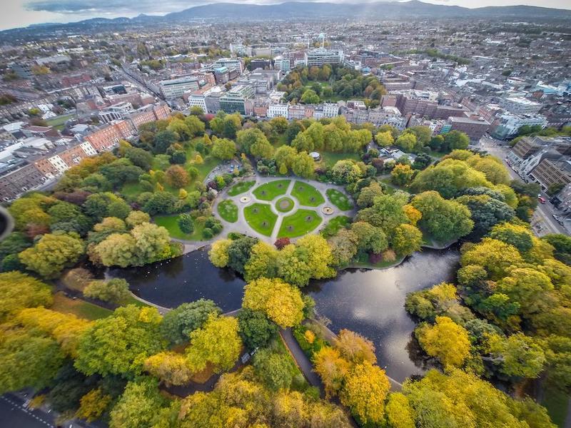 Onde ficar em Dublin: St. Stephen's Green