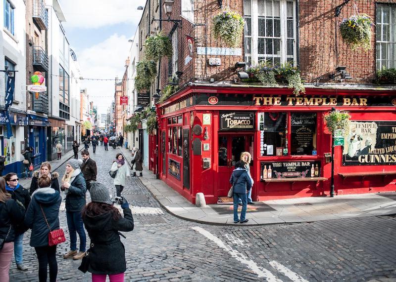Onde ficar em Dublin: Temple Bar