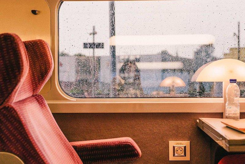 Viagem de trem pela Irlanda - passes