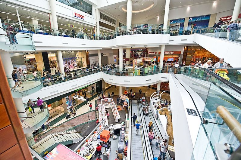 Compras em Dublin: Shopping Dundrum Town