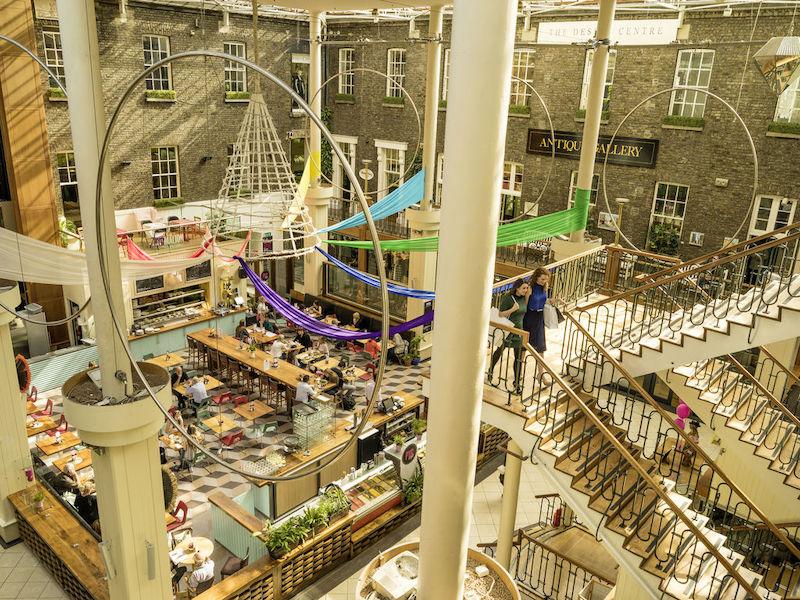 Compras em Dublin: Shopping Powerscourt Townhouse