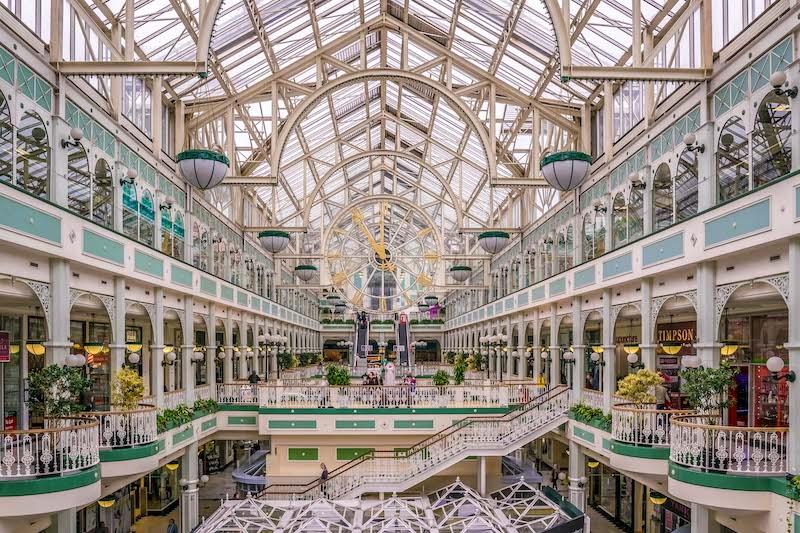 Compras em Dublin: Shopping Stephen's Green