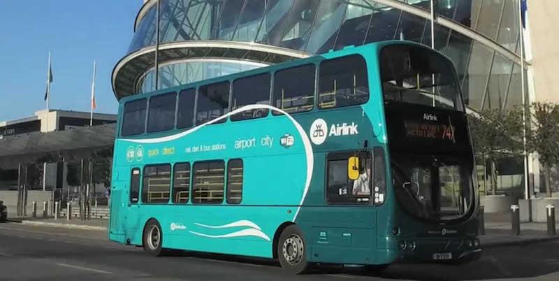 Como ir do aeroporto de Dublin até o centro: Ônibus Shuttle Airlink