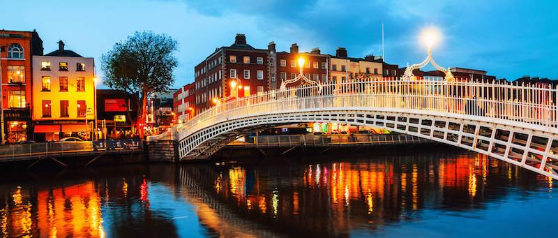 O que fazer à noite em Dublin